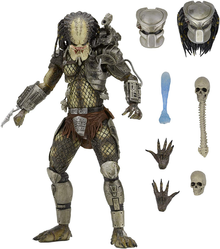 NECA Predator 7 inch Scale Ultimate Jungle Hunter Action Figure 634482515488
