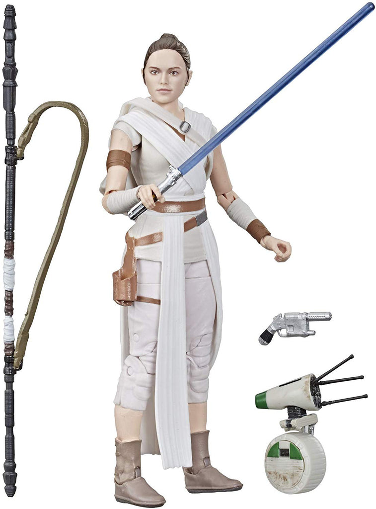 The Black Series Star Wars: The Rise of Skywalker Rey & D-O 630509867103