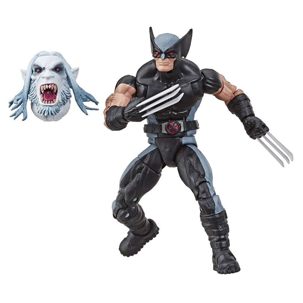 Marvel Legends X-Men Uncanny X-Force Wolverine Action Figure, 6-inch 630509825424