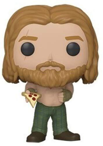 Funko POP! Marvel Avengers Endgame Bro Thor (with Pizza) Collectible Figure 889698451420
