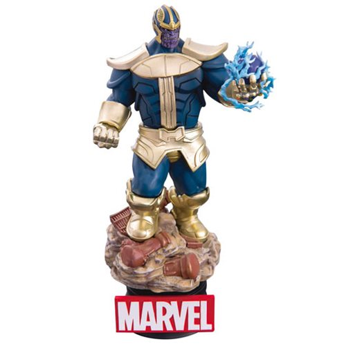 "Marvel Avengers: Infinity War Thanos DS014 D-Select 6"" Statue 4713319858618"