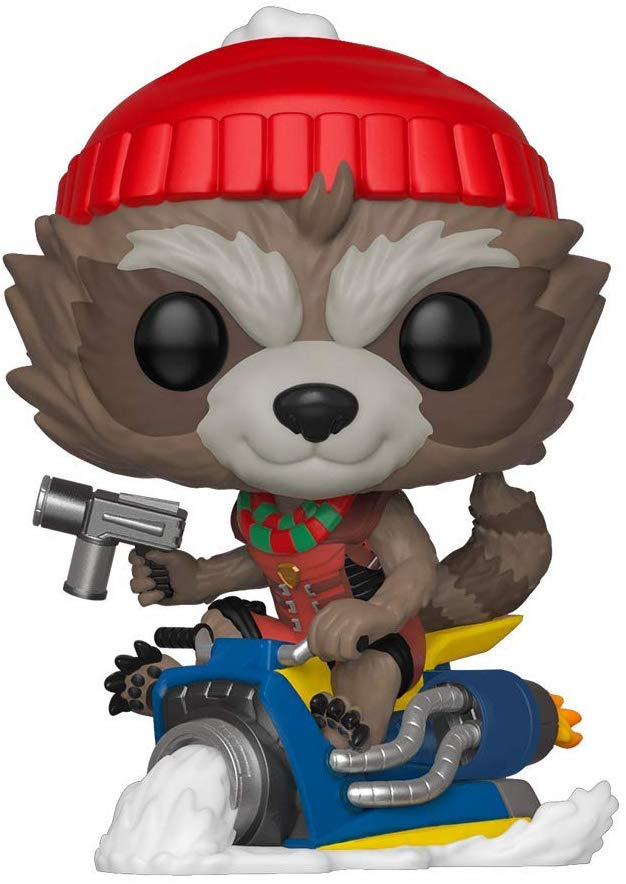 Funko Pop Marvel: Holiday, Guardians of The Galaxy - Rocket Collectible Figure 889698433341