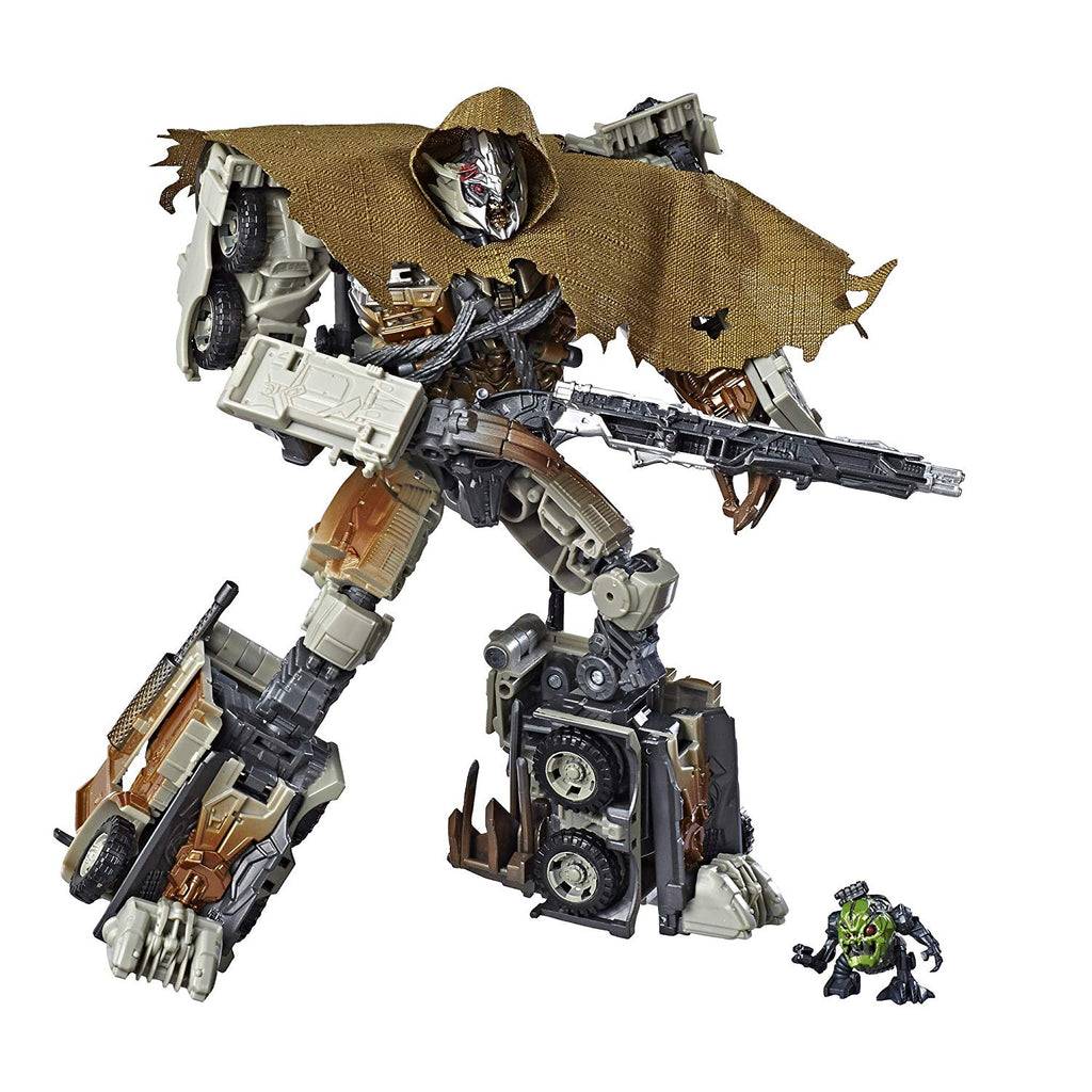 Transformers Studio Series 34 Megatron with Igor Leader Class Dark of the Moon Movie 630509791279