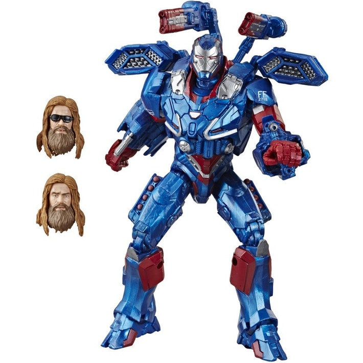Marvel Legends Avengers Endgame Iron Patriot Action Figure, 6-inch 630509856152