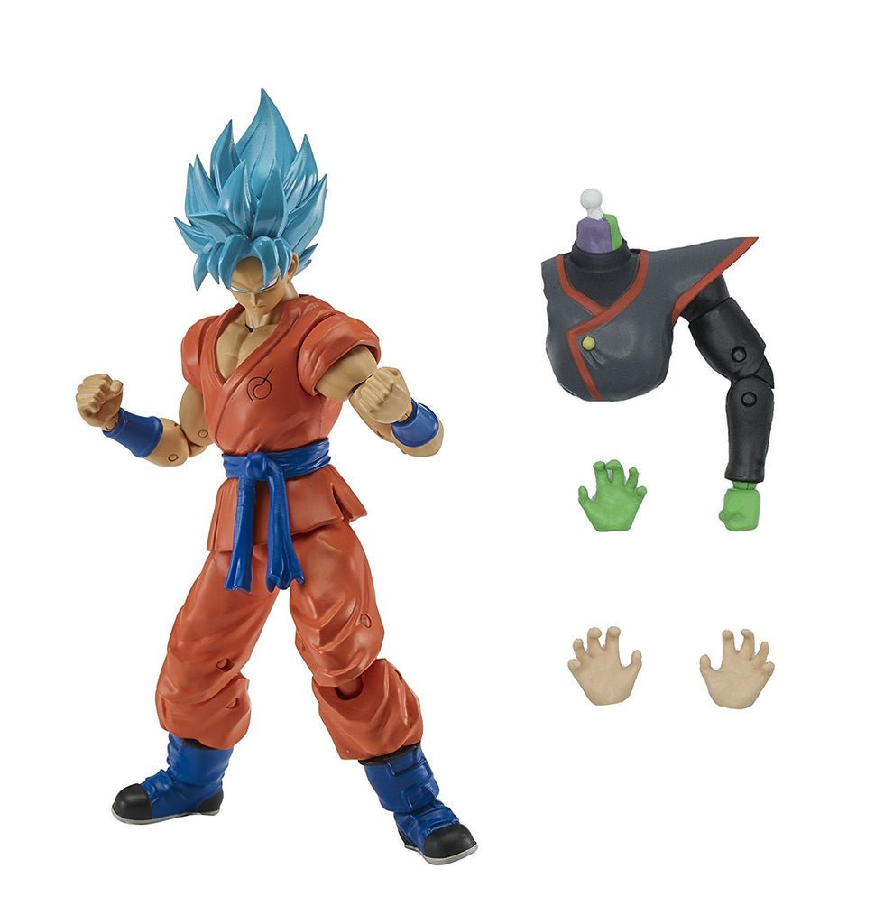 Dragon Ball Stars Super Saiyan Blue Goku Action Figure