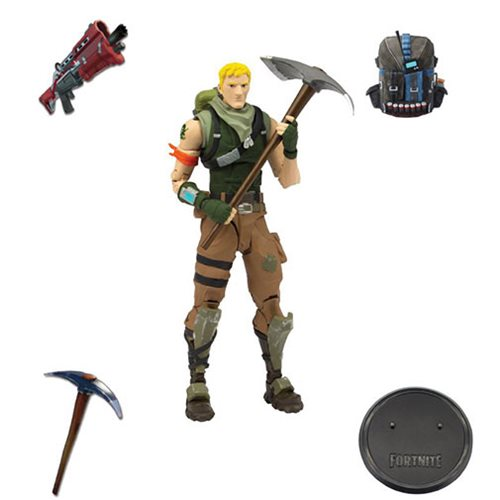 Fortnite Series 1 Jonesy 7-Inch Action Figure 787926106121