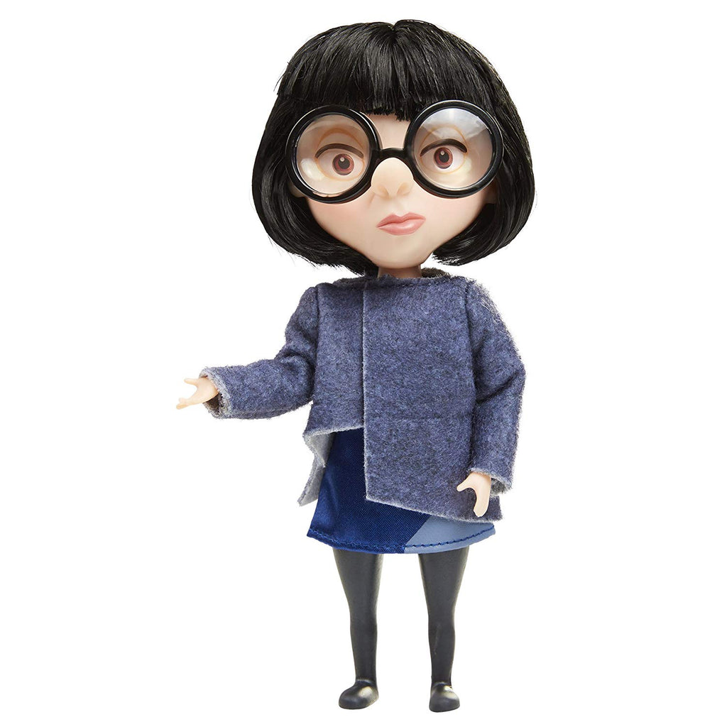The Incredibles 2 Edna in Deluxe Blue Costume and Glasses Action Figure 039897524177