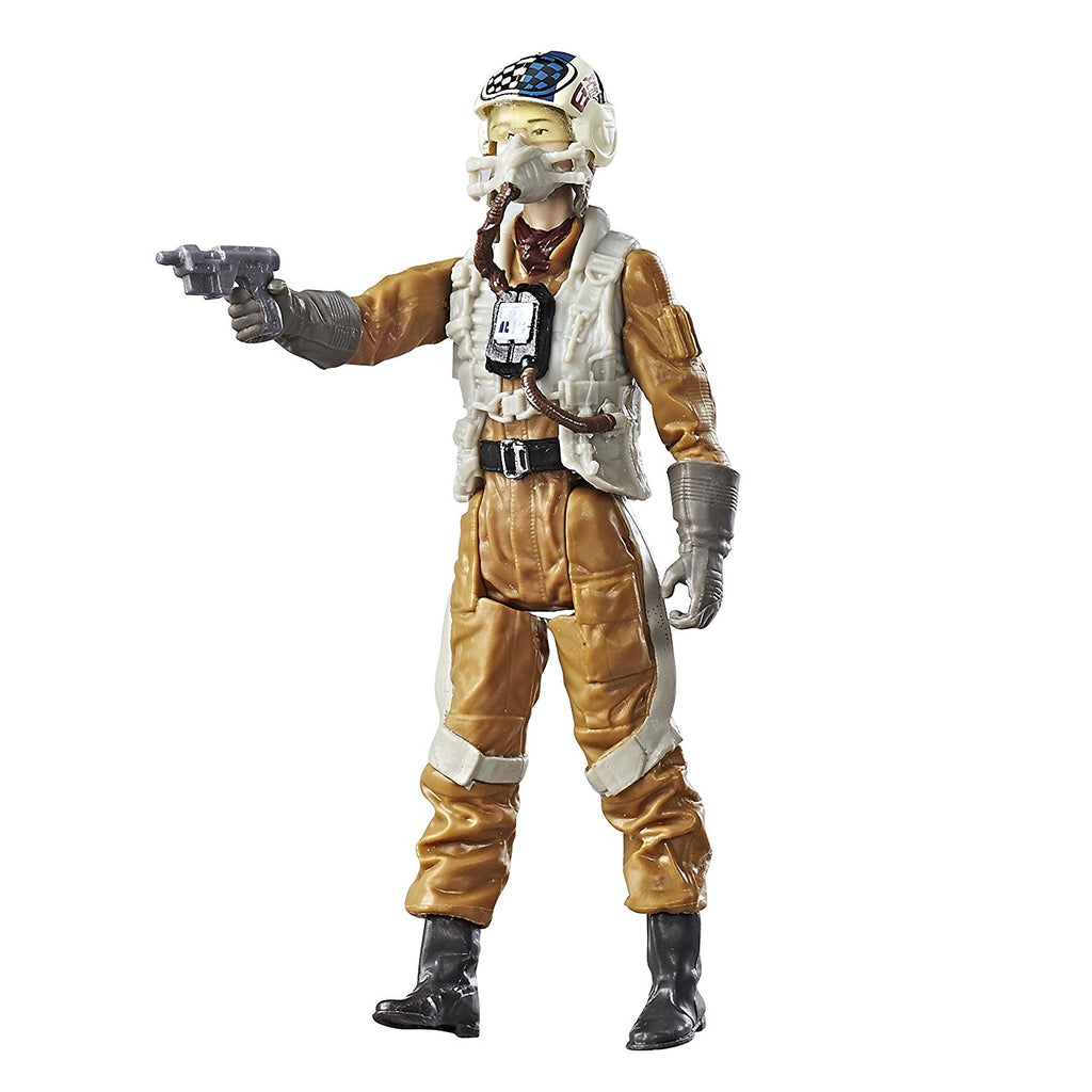 Star Wars: The Last Jedi Resistance Gunner Paige Force Link Figure 3.75 Inches