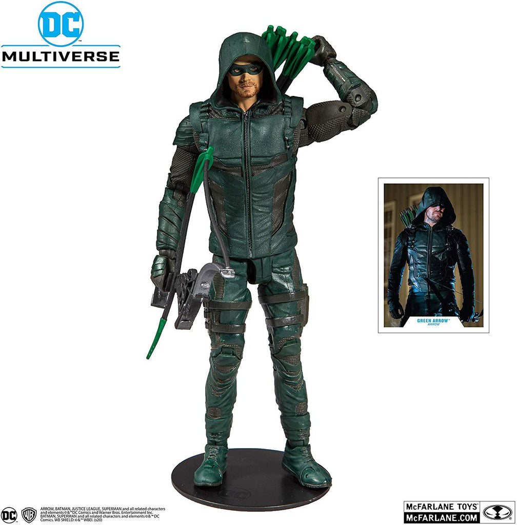 DC Multiverse Green Arrow: Arrow 7-Inch Action Figure 787926151121