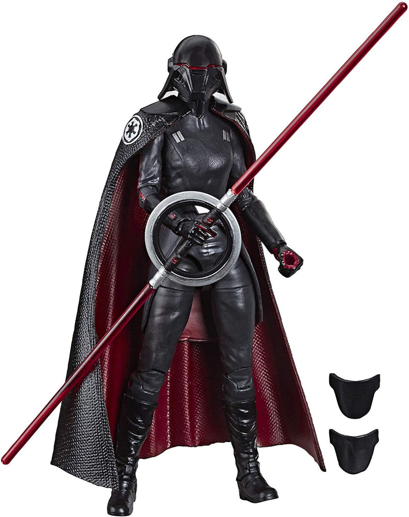 "Star Wars: Jedi Fallen Order Black Series 6"" Second Sister Inquisitor 630509867141"