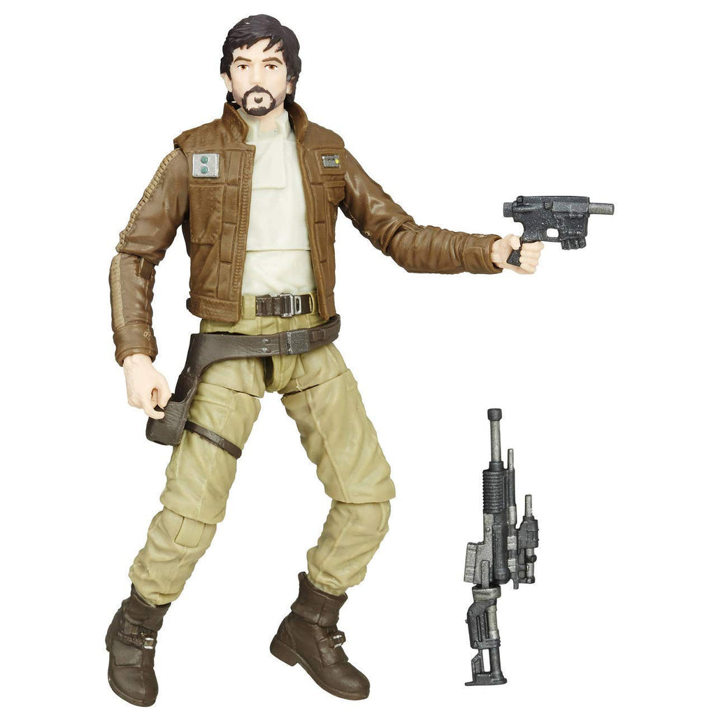 Star Wars The Vintage Collection Captain Cassian Andor Figure 3.75 Inches 630509735358