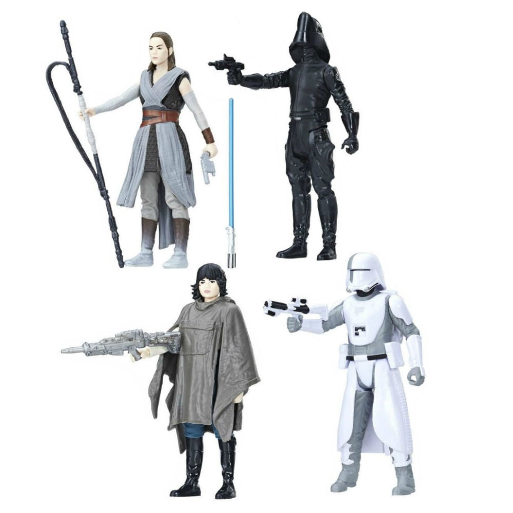 Star Wars: The Last Jedi Battle on Crait Action Figure Set