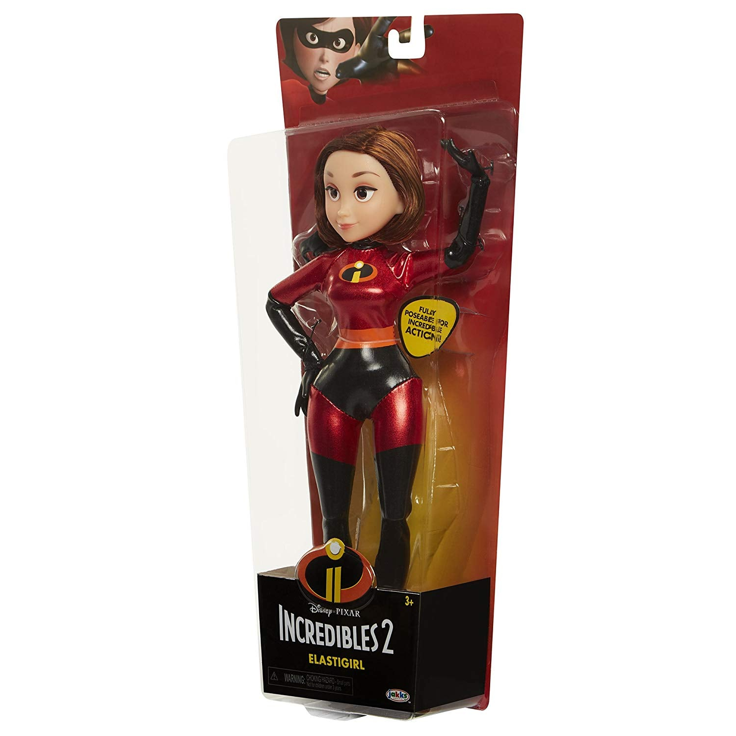 The Incredibles 2 Elastigirl In Costume And Mask 11 Action Figure Quest Toys