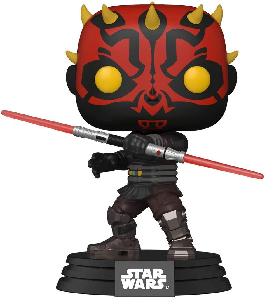 Funko Pop! Star Wars: The Clone Wars Darth Maul Vinyl Figure 889698520256