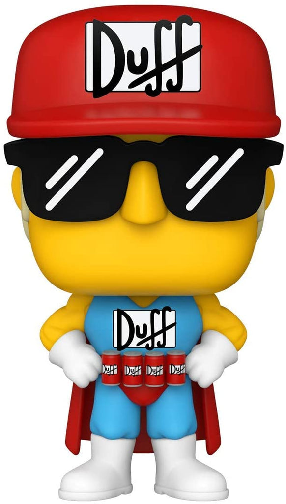 Funko Pop TV: Duffman - The Simpsons 889698529556
