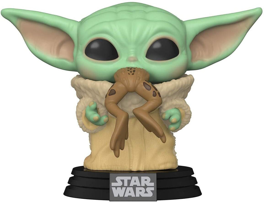 Funko POP! Star Wars The Mandalorian The Child with Frog Collectible Figure 889698499323