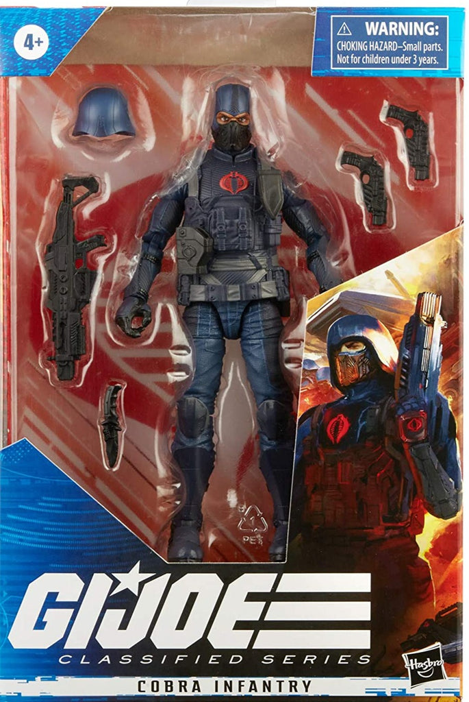 G.I. Joe Classified Series Cobra Infantry 6-Inch Action Figures 5010993831289