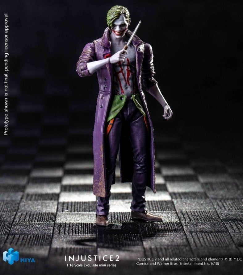 HIYA Injustice 2: The Joker 1/18 Scale Action Figure 6957534200465