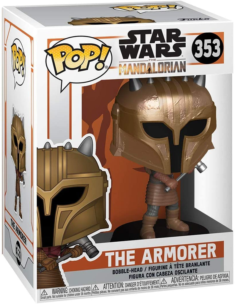Funko POP! Star Wars: The Mandalorian - The Armorer - Collectible Figure 889698455466