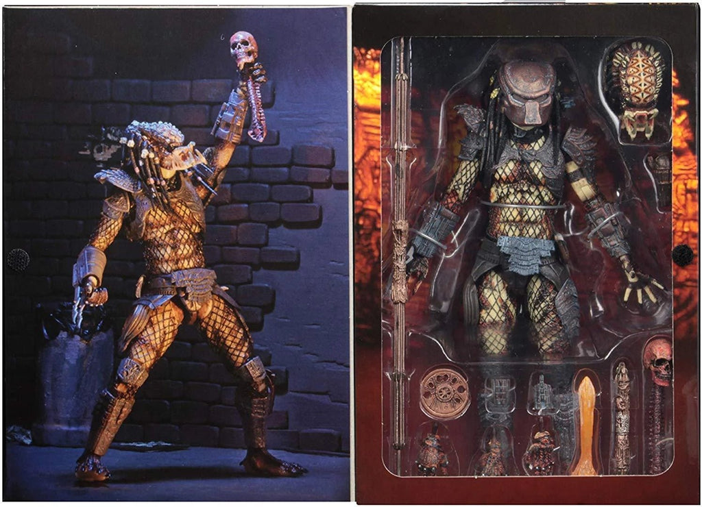"NECA Predator 7"" Scale Ultimate City Hunter Action Figure 634482515495"