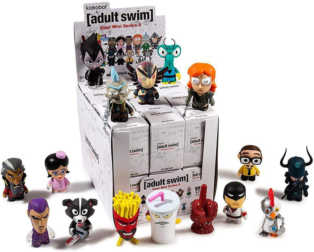 Kidrobot Adult Swim The Revenge Series 2 Vinyl Mini Figure Blind Box 883975152857