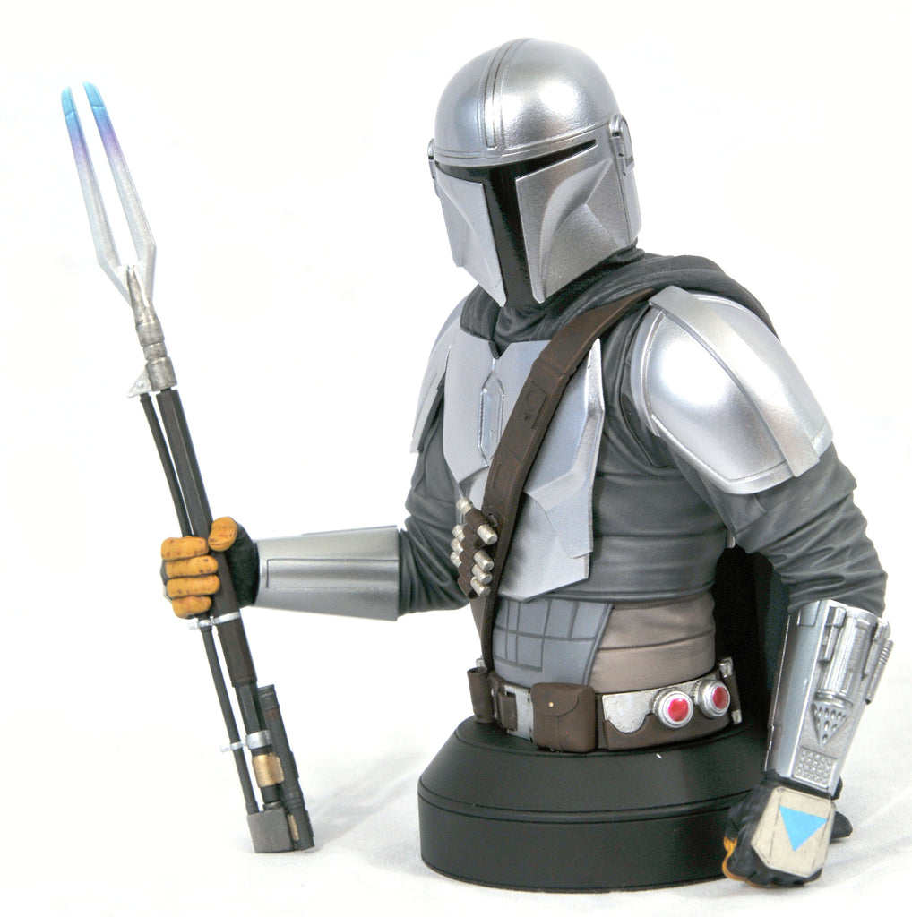 Gentle Giant Star Wars Mandalorian MK 2 (Beskar Armor) 1:6 Scale Mini-Bust - SDCC 2020 Exclusive 699788840146