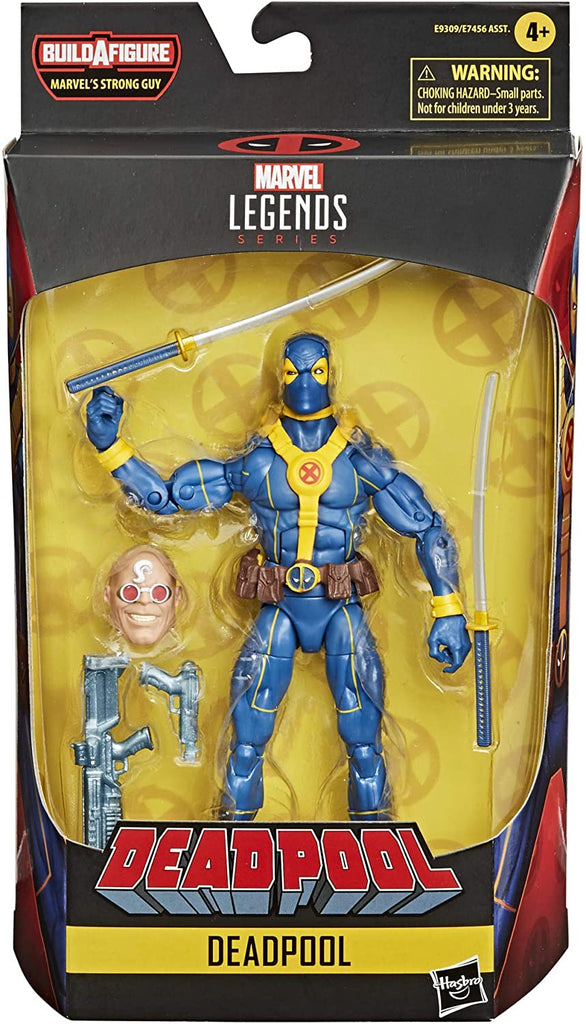 Marvel Legends Deadpool - GOAT! (Blue) Action Figure 6-inch 5010993694884