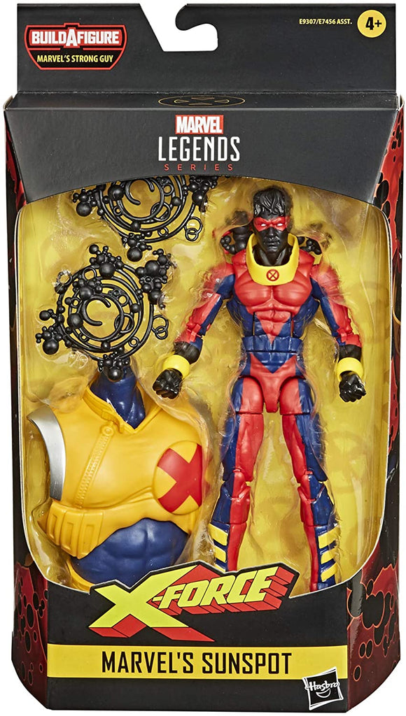 Marvel Legends x-men X-Force Sunspot Action Figure, 6-inch 5010993697090