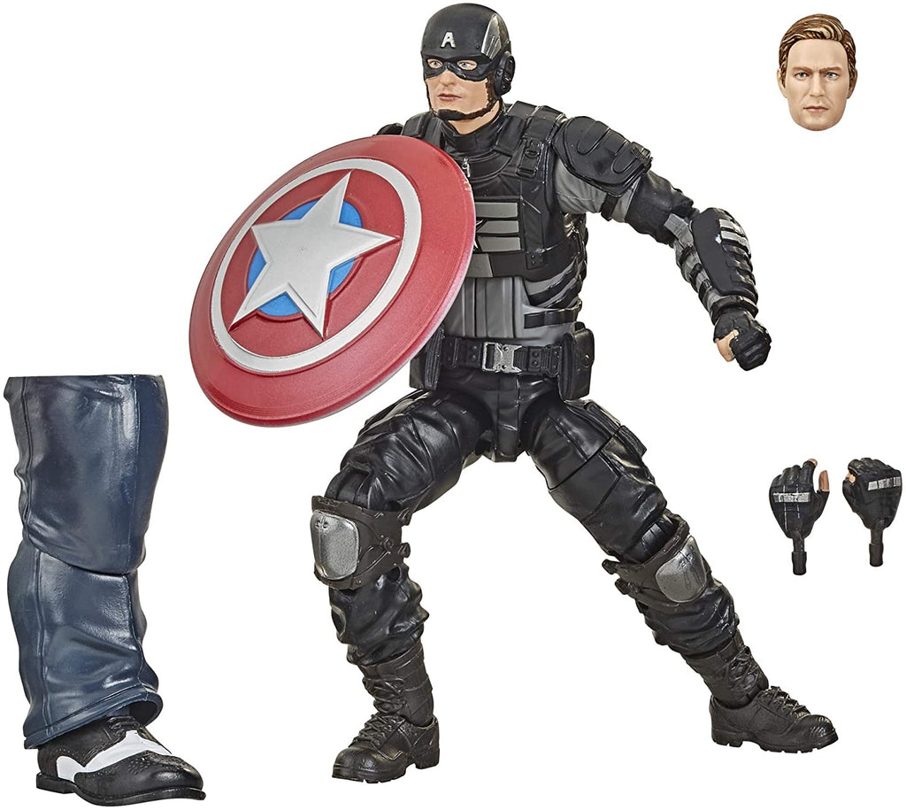Marvel Legends Gamerverse Avengers Stealth Captain America Action Figure 6 Inch 5010993734184