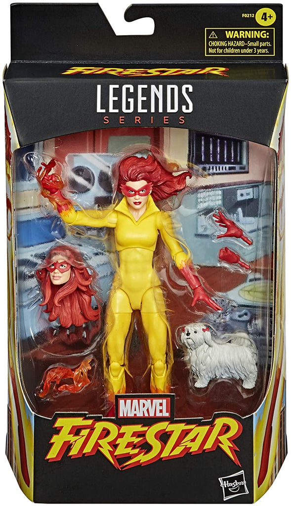 Marvel Legends Amazing Spider-Man and Friends Firestar Action Figure 6 Inch 5010993792504