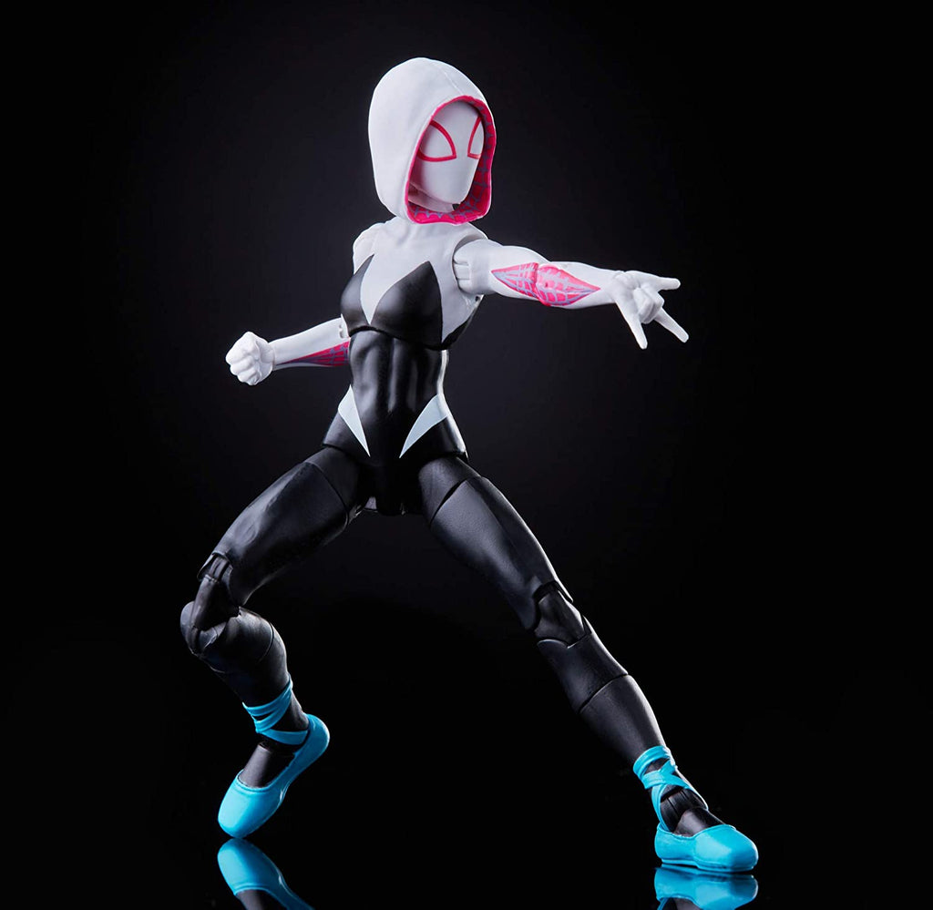 Spider-Man Marvel Legends Into The Spider-Verse Gwen Stacy Action Figure 6 Inch 5010993786534