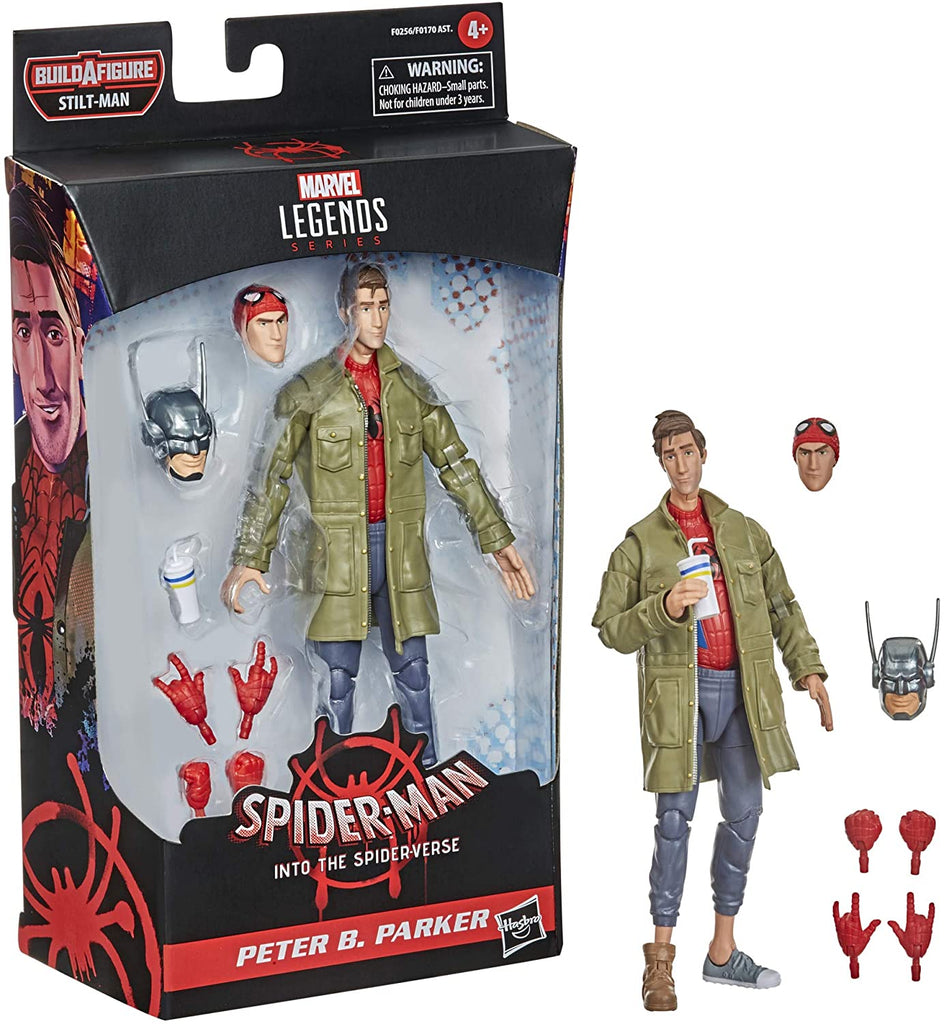 Spider-Man Marvel Legends Into The Spider-Verse Peter B. Parker Action Figure 6 Inch 5010993786428