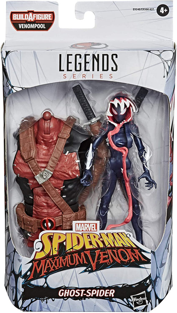 Marvel Legends Venom Ghost-Spider Action Figure 6-inch 5010993735501