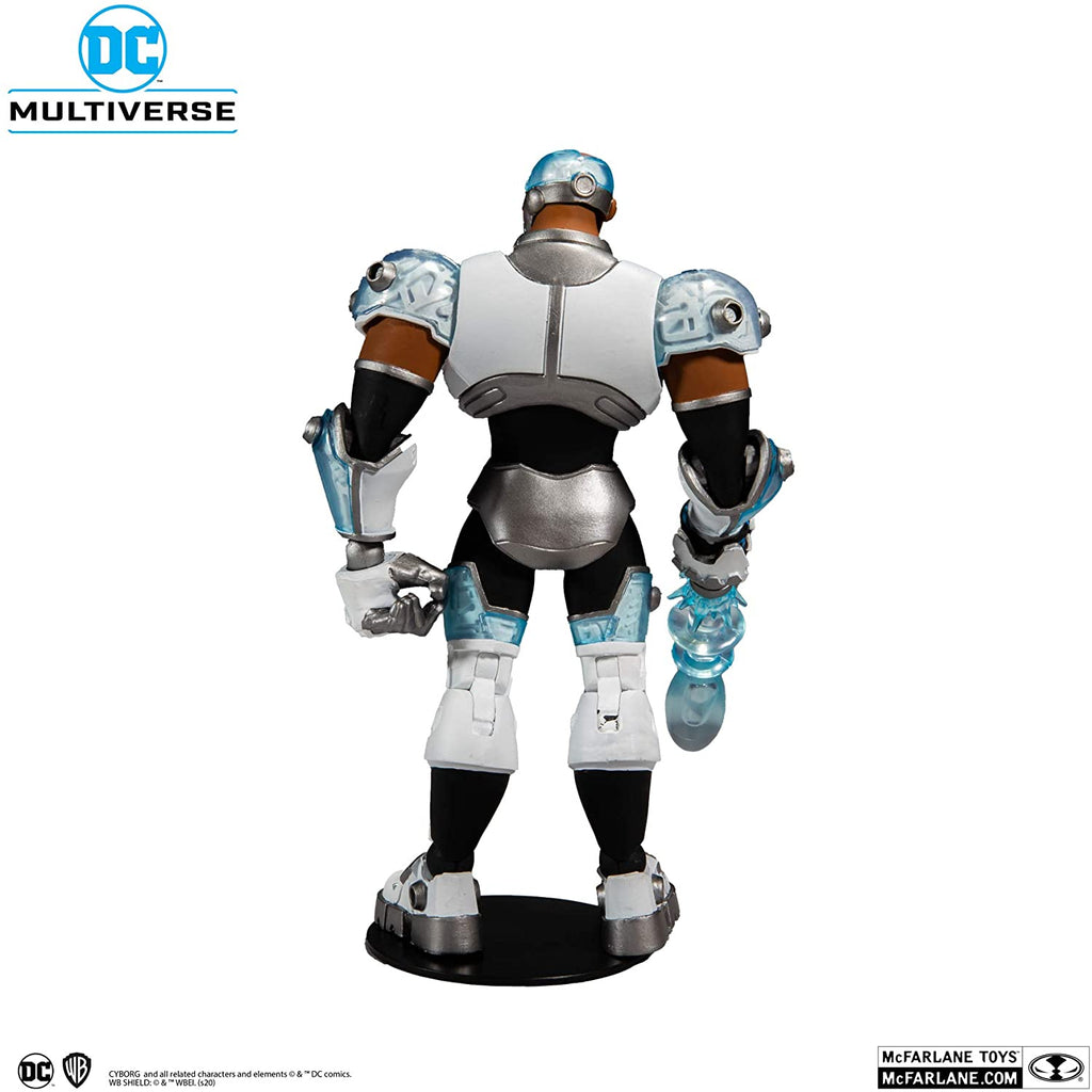 DC Animated Teen Titans: Cyborg 7-Inch Action Figure 787926155082