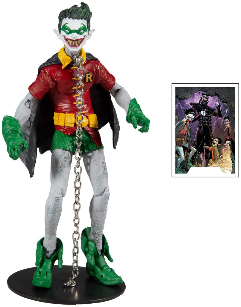 DC Multiverse Dark Knights: Metal - Robin Crow 7-Inch Action Figure 787926154221