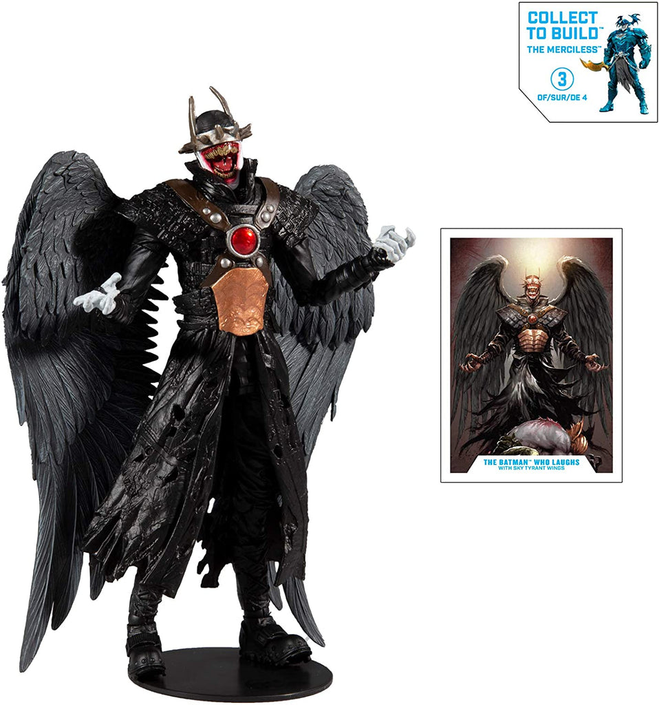 DC Multiverse Dark Knights: The Batman Who Laughs (Hawkman) 7-Inch Action Figure 787926154214
