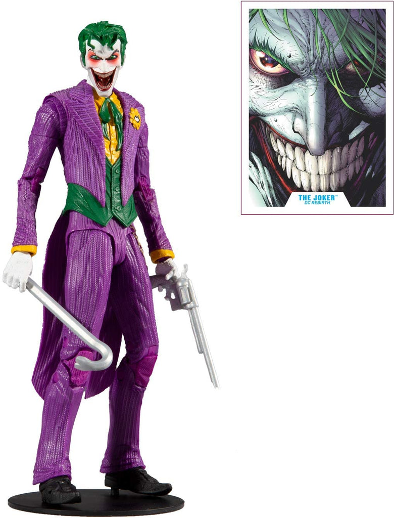 DC Multiverse DC Rebirth The Joker 7-Inch Action Figure 787926151329