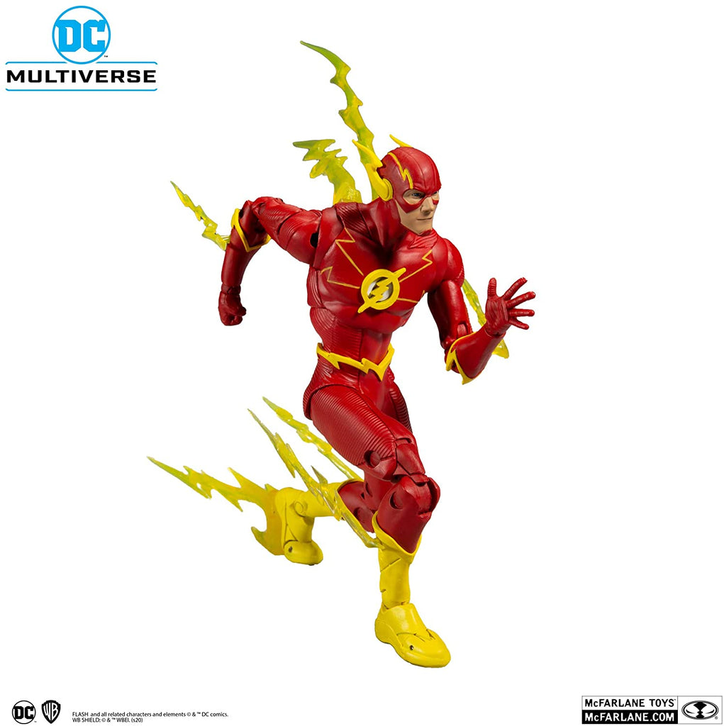 DC Multiverse DC Rebirth The Flash 7-Inch Action Figure 787926151268