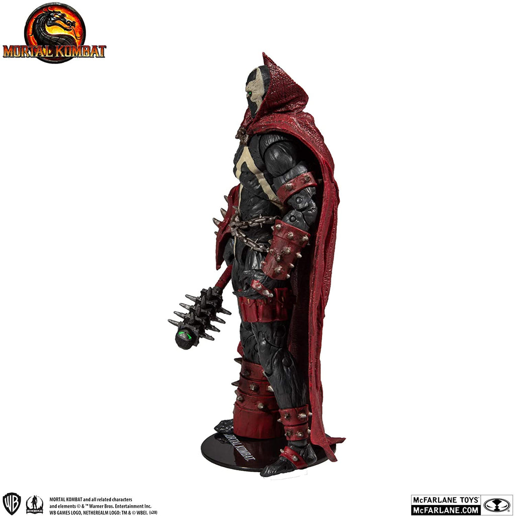 Mortal Kombat Series 2 Spawn with Mace 7-Inch Action Figure 787926110333