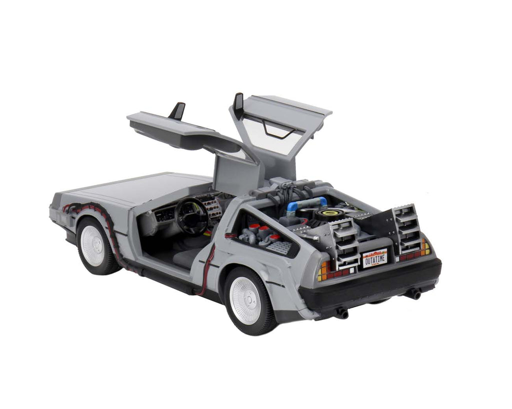 NECA Back to The Future Time Machine 6-Inch Diecast Vehicle 634482536070