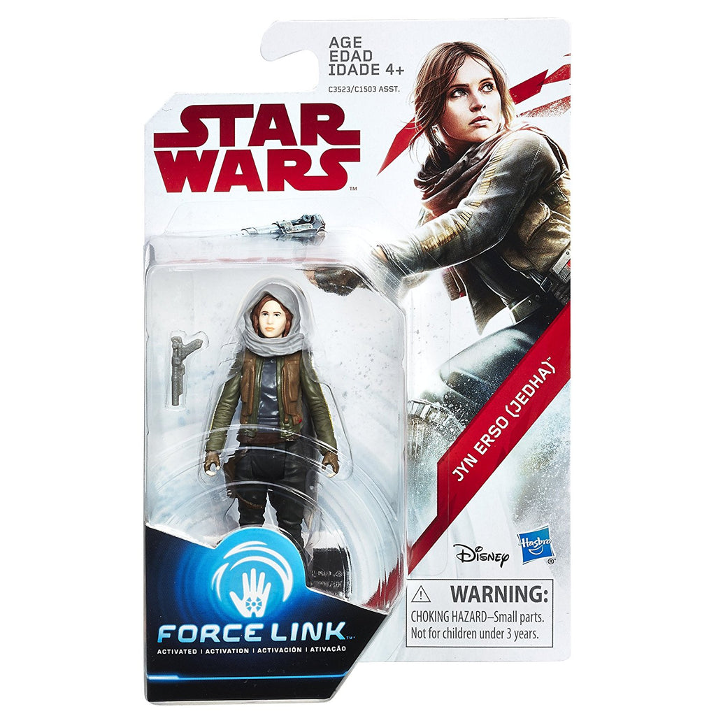 Star Wars: The Last Jedi Jyn Erso (Jedha) Force Link Figure 3.75 Inches