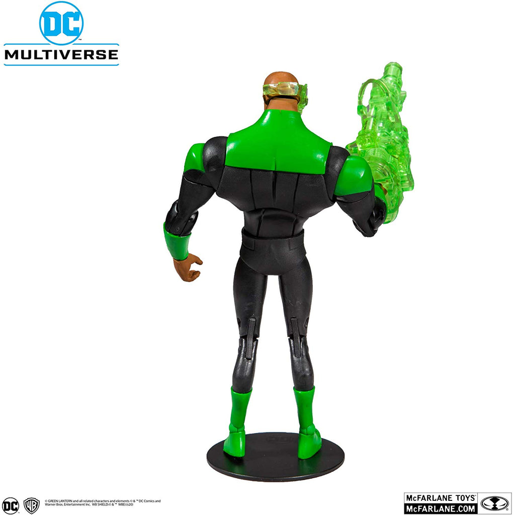 DC Multiverse DC Animated Justice League Animated Series John Stewart Green Lantern 7-Inch Action Figure 787926155037