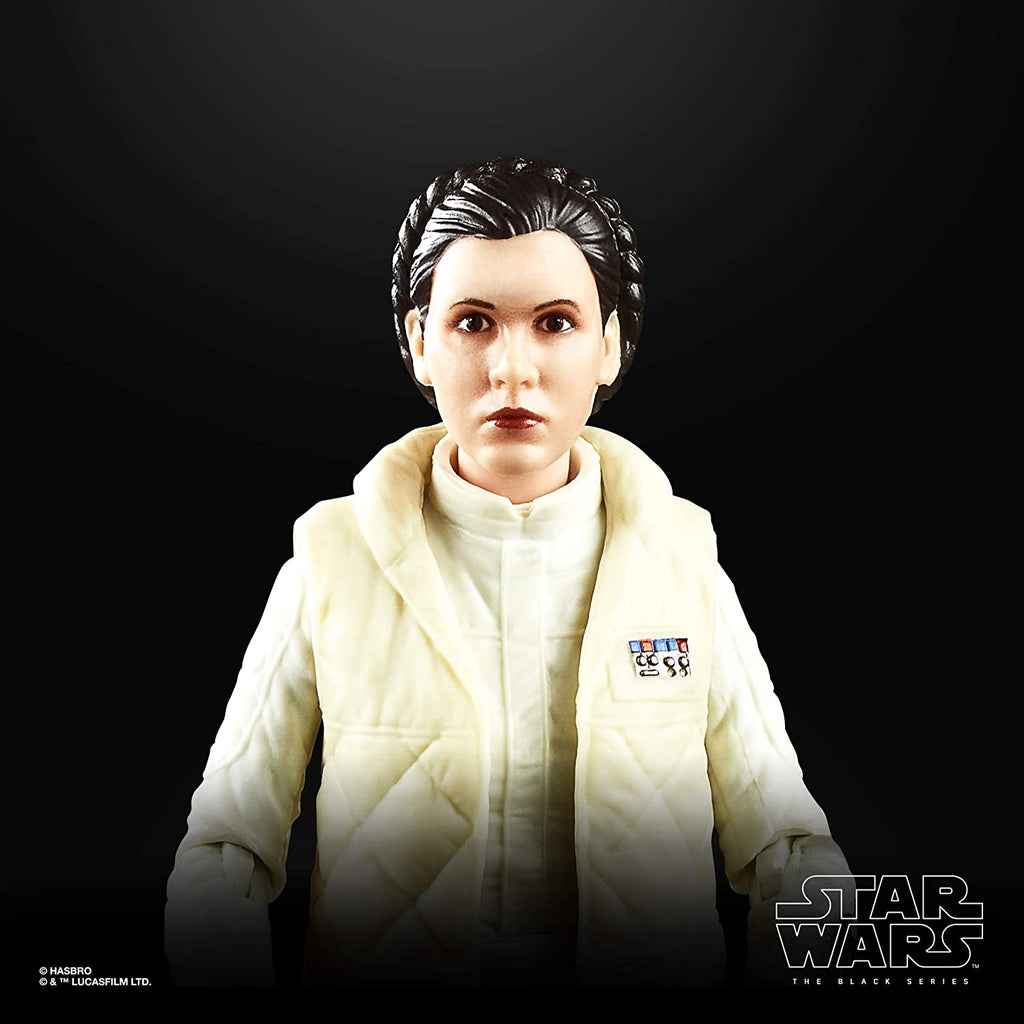 "Star Wars The Black Series Princess Leia Organa 6"" Scale The Empire Strikes Back 40TH Anniversary Collectible Figure 5010993660544"