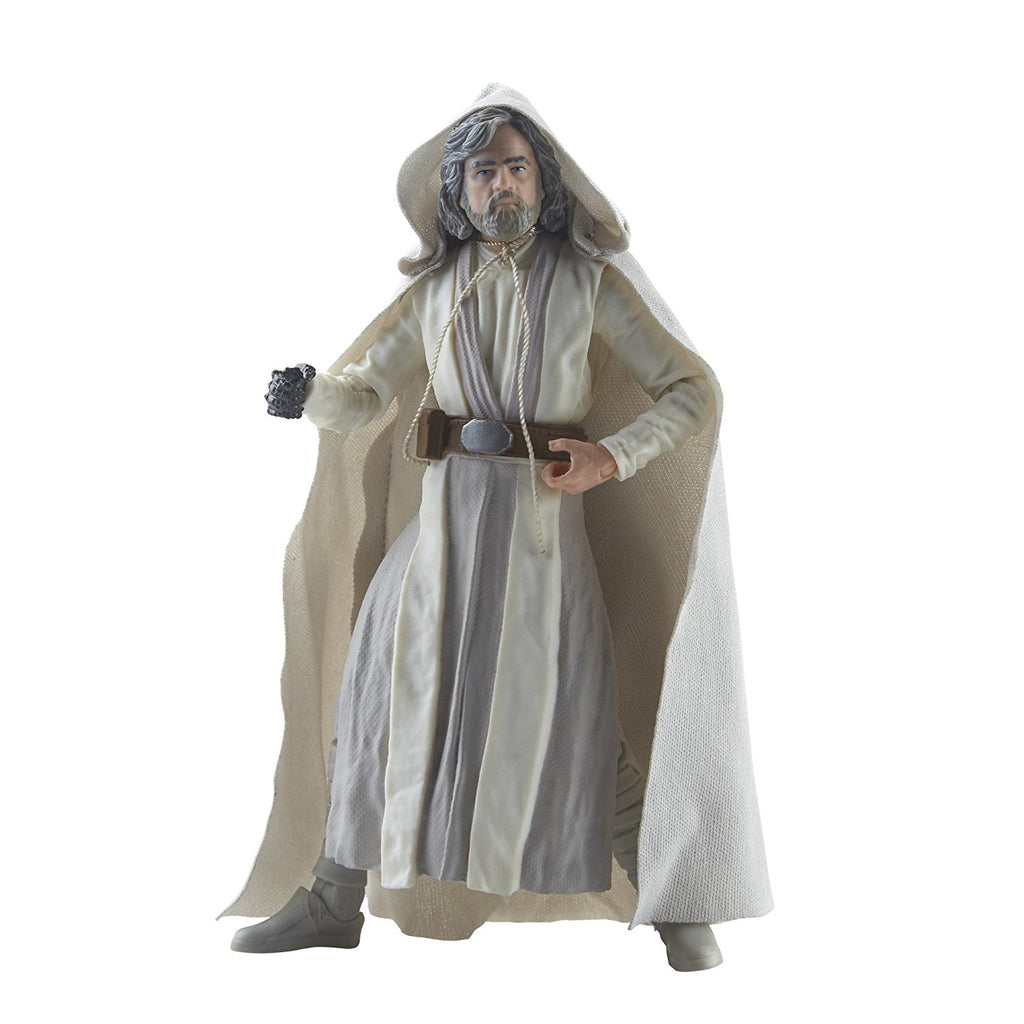 Star Wars The Black Series Episode 8 Luke Skywalker (Jedi Master), 6-inch pose 3