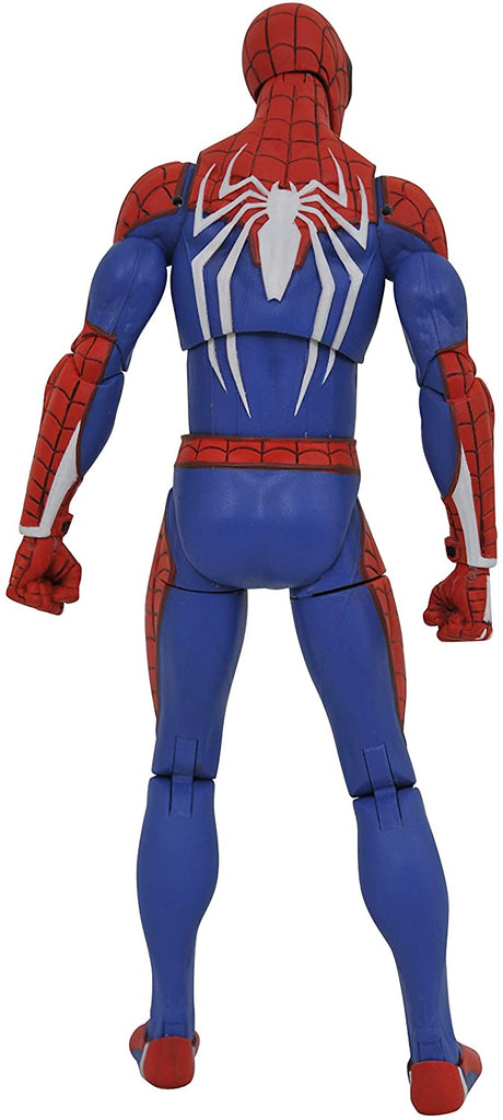 Marvel Select Spider-man (Playstation 4 Version) Action Figure 699788836132