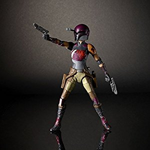 "Star Wars: Rebels Black Series 6"" Sabine Wren"