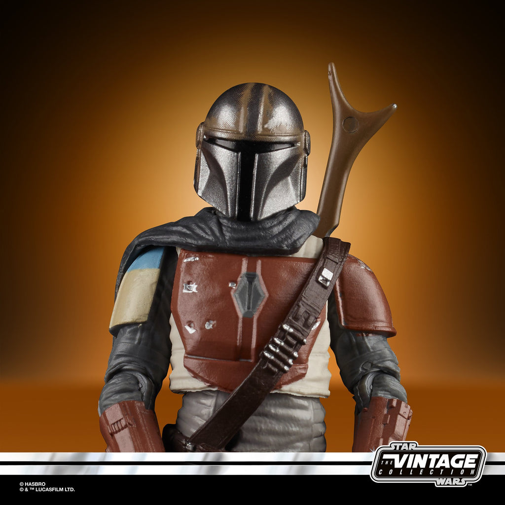 Star Wars The Vintage Collection The Mandalorian Figure 3.75 Inches 630509924325