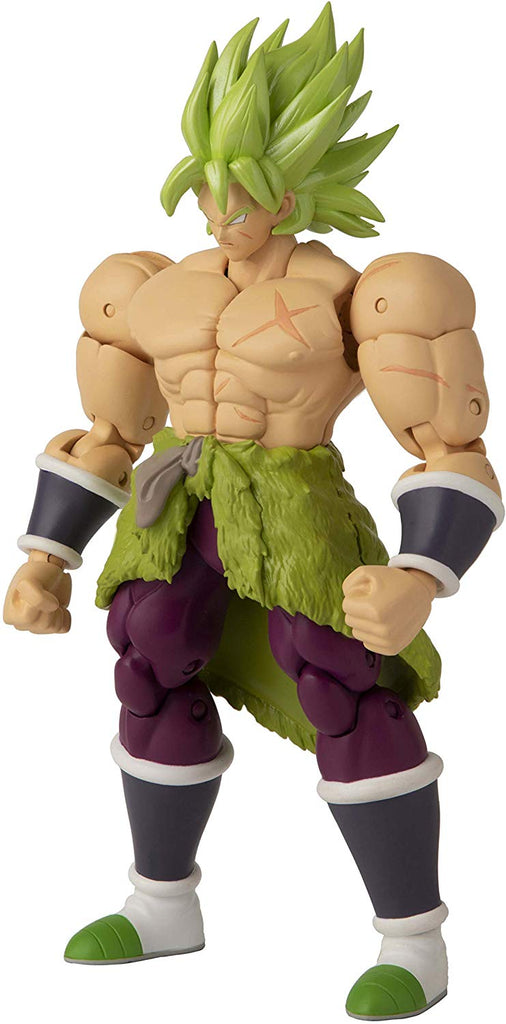 Dragon Ball Stars Super Saiyan Broly Action Figure 045557361907