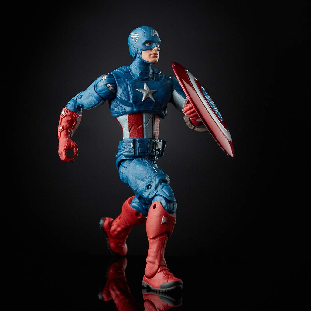 Marvel Legends Avengers Endgame Captain America Action Figure, 6-inch 630509856169