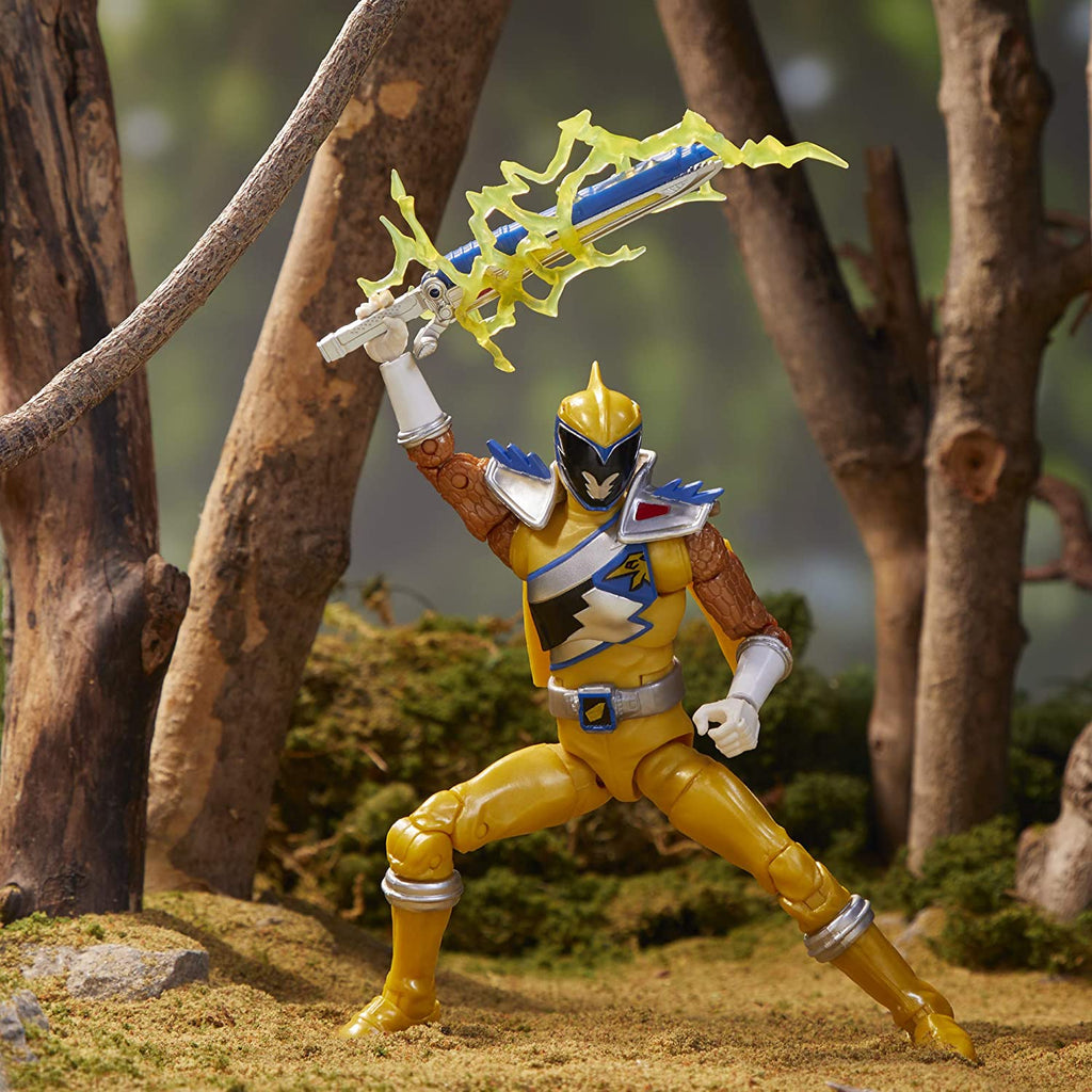 "Power Rangers Lightning Collection 6"" Dino Charge Gold Ranger"